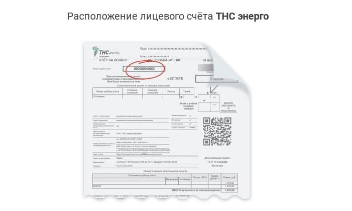 Личный кабинет ТНС Энерго Воронеж