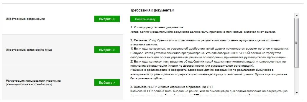 Сбербанк АСТ: вход на торговую площадку