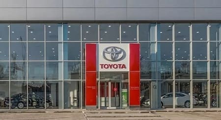 Личный кабинет Тойота