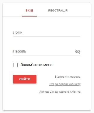 Новая Почта (Нова Пошта) - личный кабинет